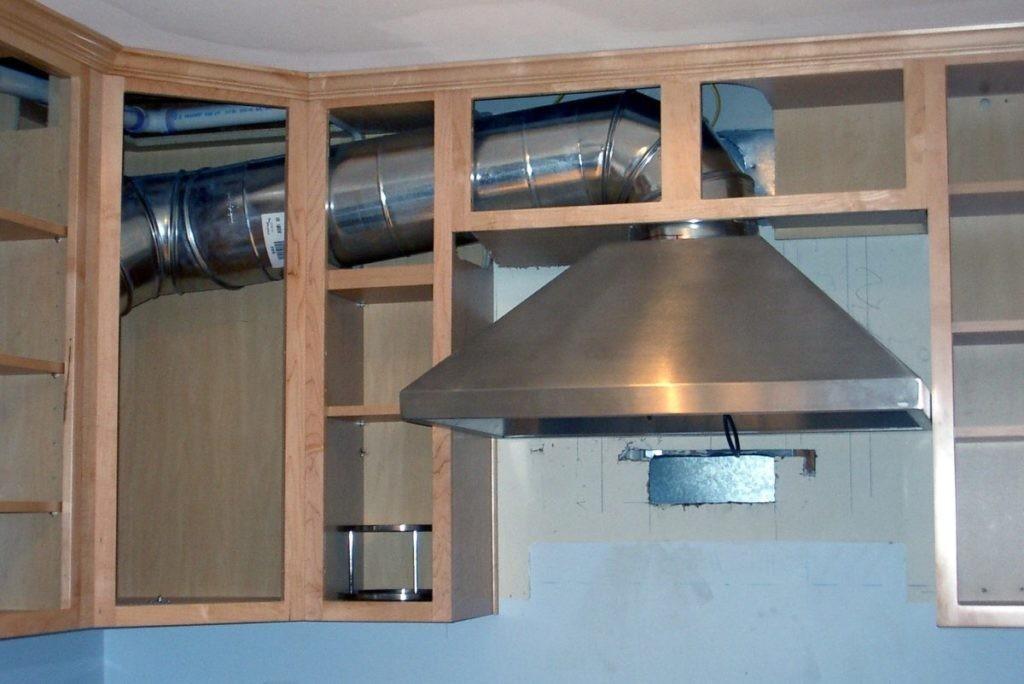 Вентиляция для вытяжки на кухне своими руками 211