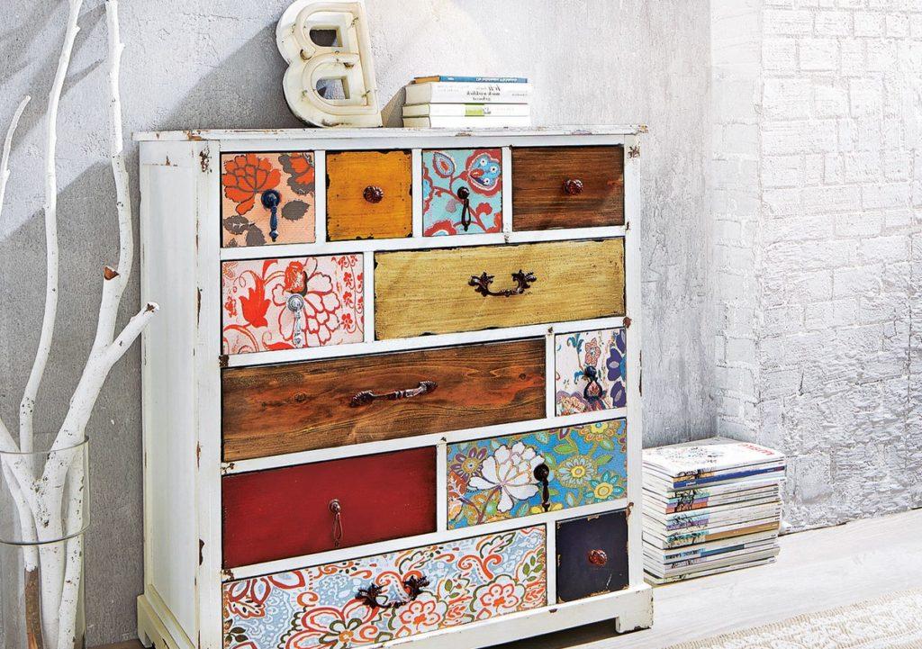 Идеи для обновления старой мебели своими руками 67