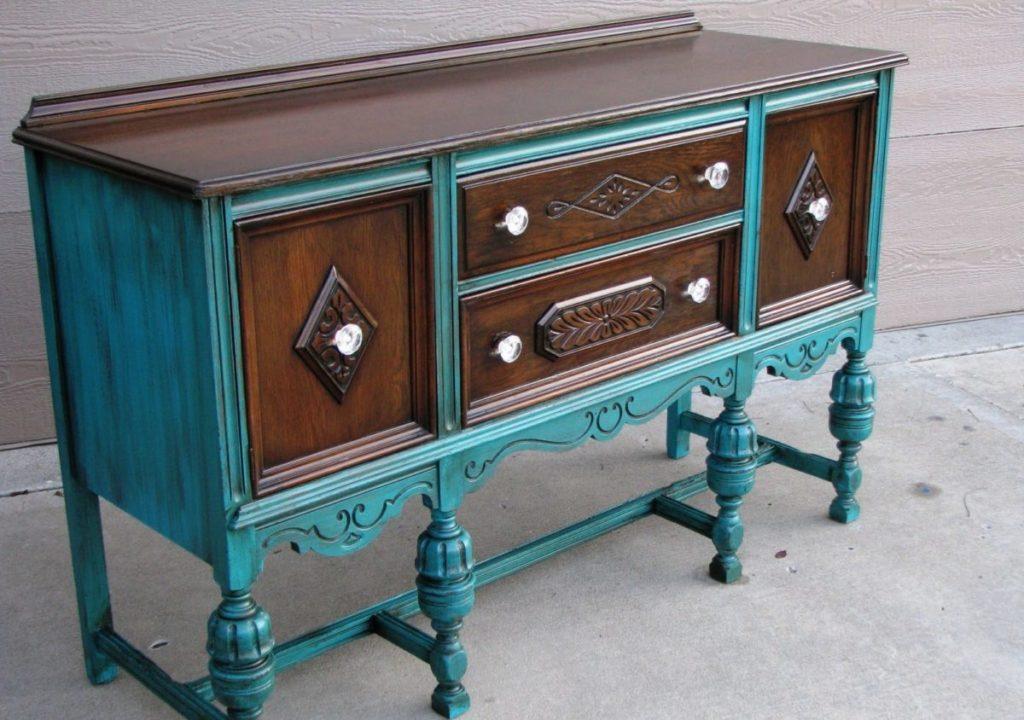 Идеи для обновления старой мебели своими руками 6