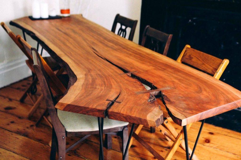 Стол из массива дерева своими руками фото 176