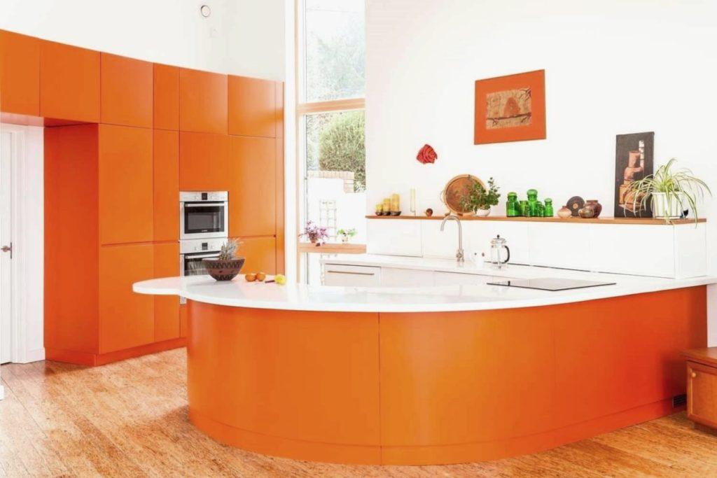 Обои для кухни - 155 фото дизайна, какие 69