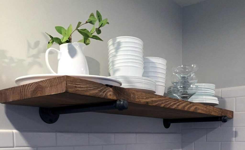 принципе, полки настенные для кухни фото интересный дизайн частности