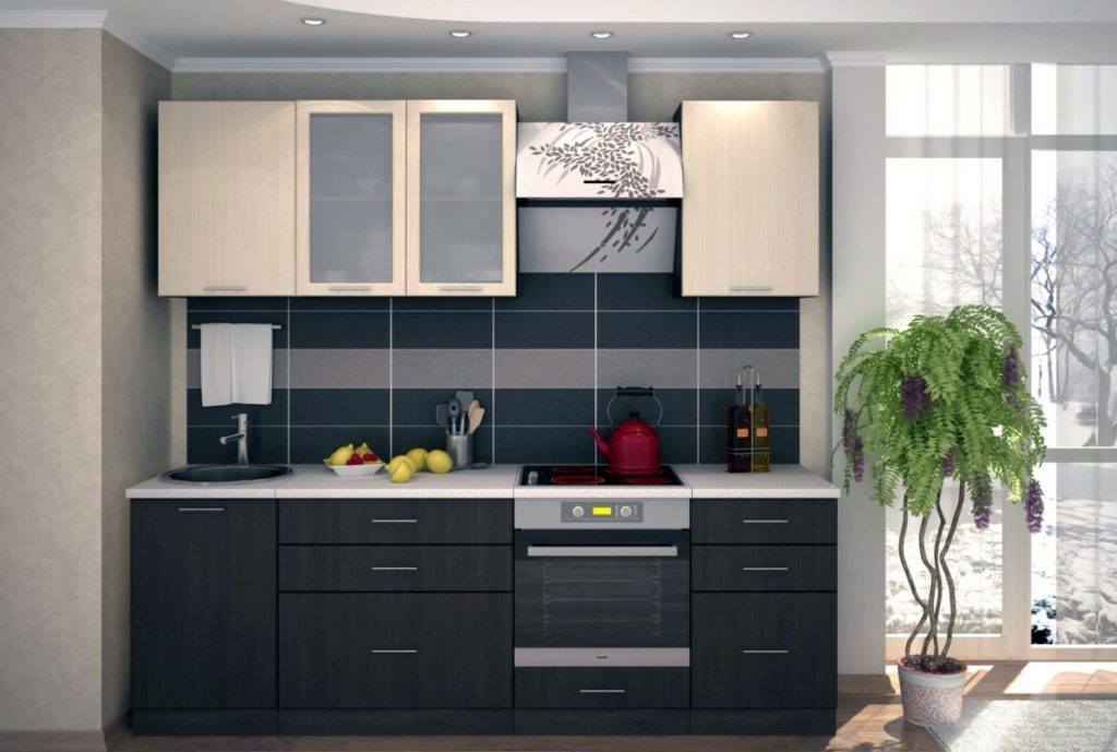 Кухни эконом-класса - особенности недорогой мебели новые фото