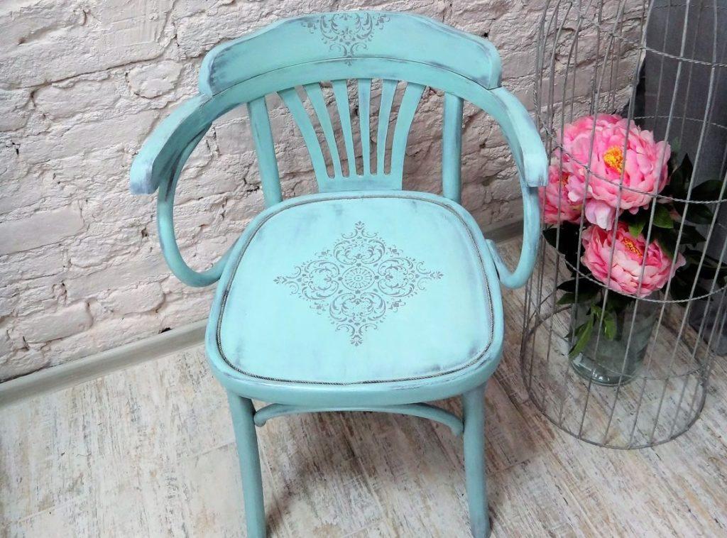 декорирование старых стульев своими руками фото для