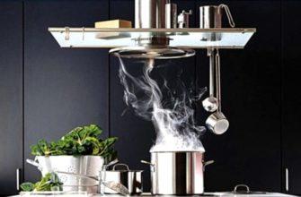 Вытяжка для кухни своими руками