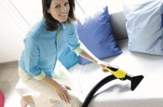 Чем почистить диван из ткани