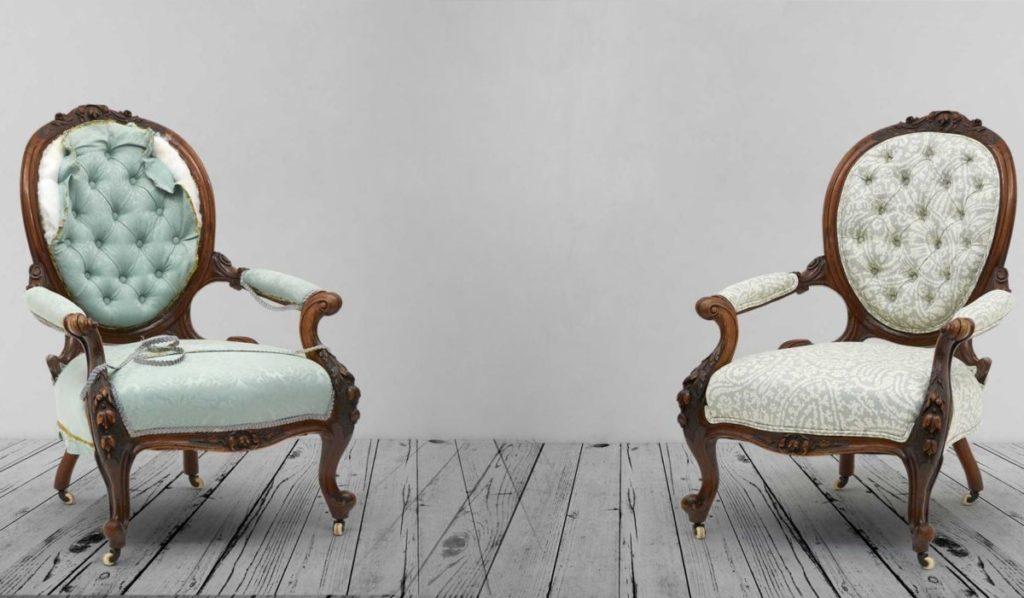Как своими руками преобразить старый стул фото 954
