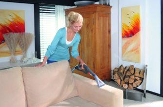 Как почистить диван уксусом и содой