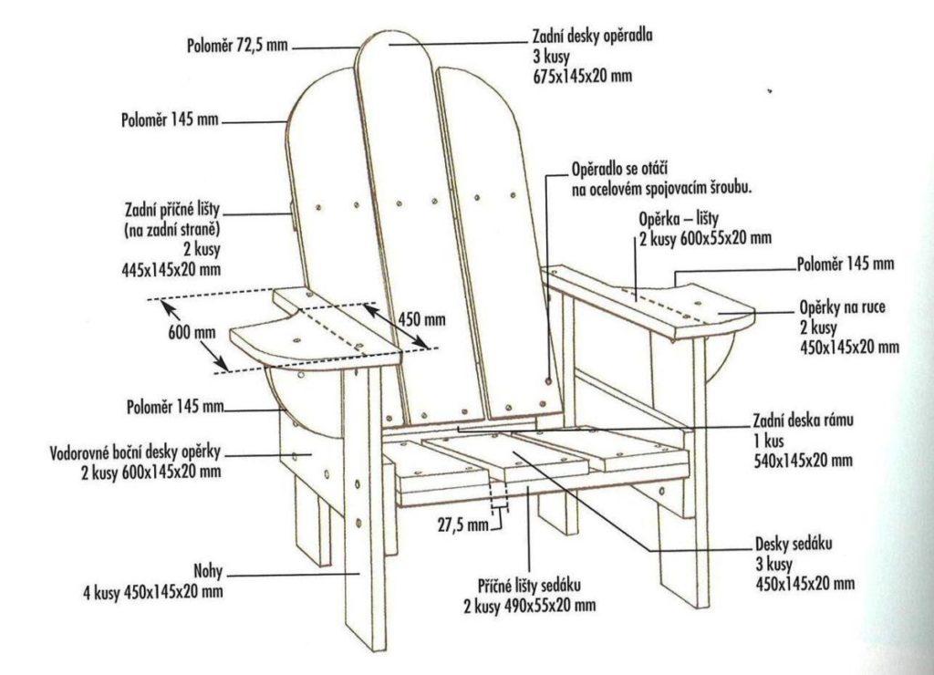 Чертеж раскладного стула со спинкой из дерева своими руками фото 999