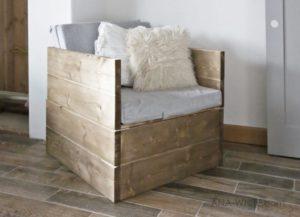 Простое кресло кровать