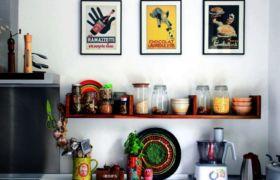 Полки для кухни своими руками