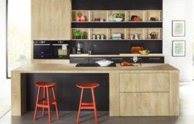Полки над кухонным столом