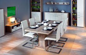 Конструкция больших кухонные столов