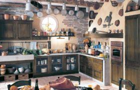 Кухня в деревенском стиле — национальные оттенки