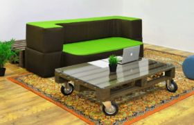Мебель-трансформер раскладной диван на кухню