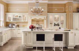 Освещение кухни в классическом стиле