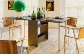 Откидной стол-книжка на кухню