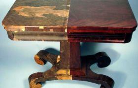 Покраска кухонного стола своими руками