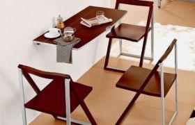 Пристенный стол — форма, размеры