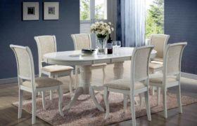 Размеры кухонных овальных столов