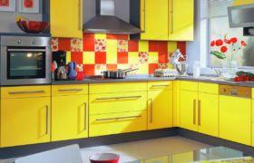 Цветовое решение для кухонного фартука
