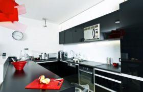 Декор для черно белой кухни