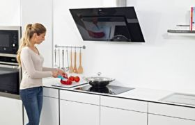 Плоские вытяжки для кухни