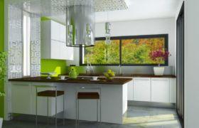 В каких цветах оформить небольшую кухню
