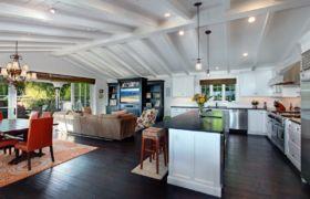 Варианты зонирования кухни гостиной