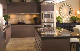 Выбор цветового решения кухни