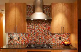 Высота фартука для кухни