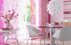Декор для розовой кухни